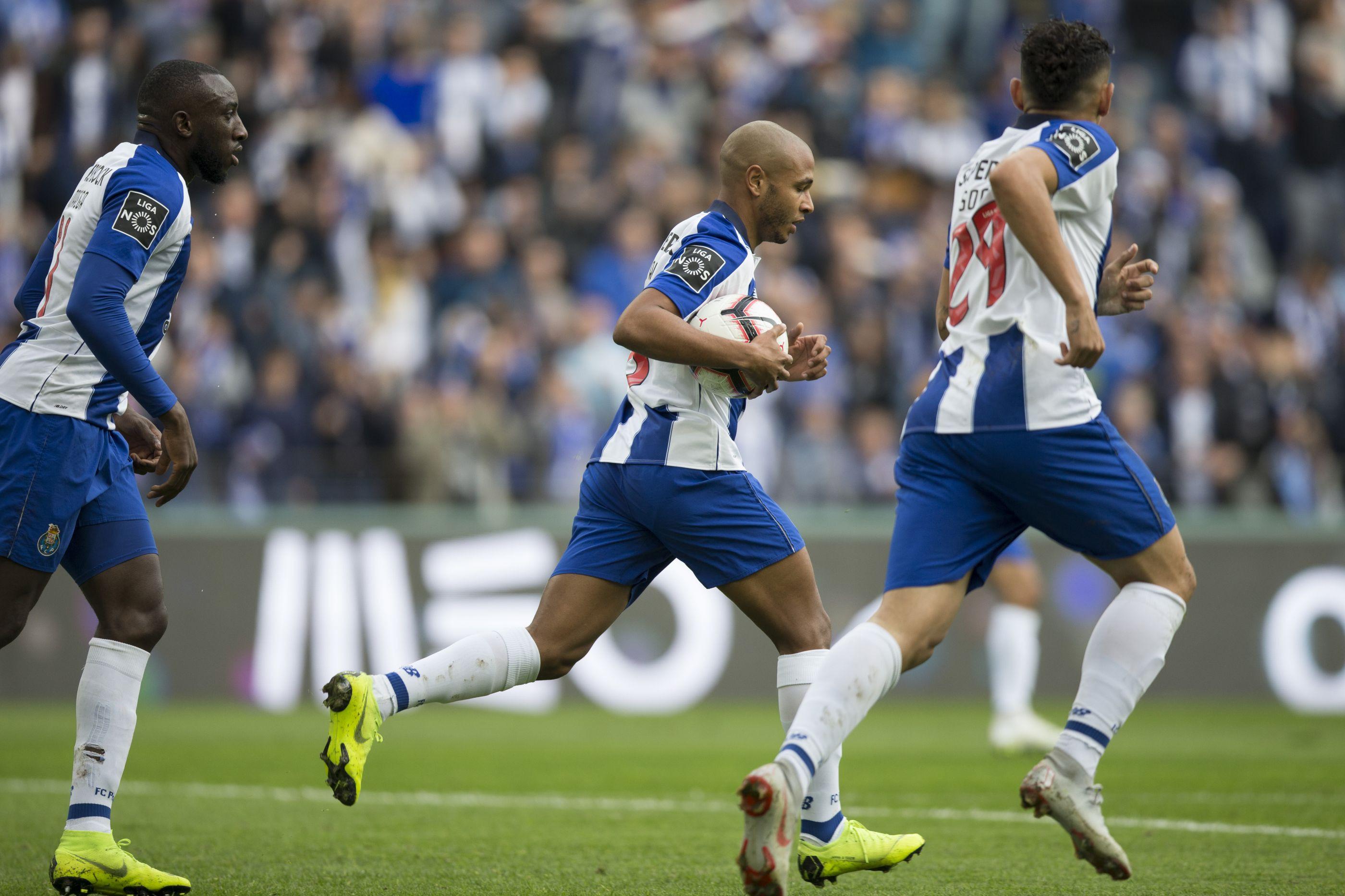 [2-1] FC Porto-Rio Ave: Intervalo no estádio do Dragão