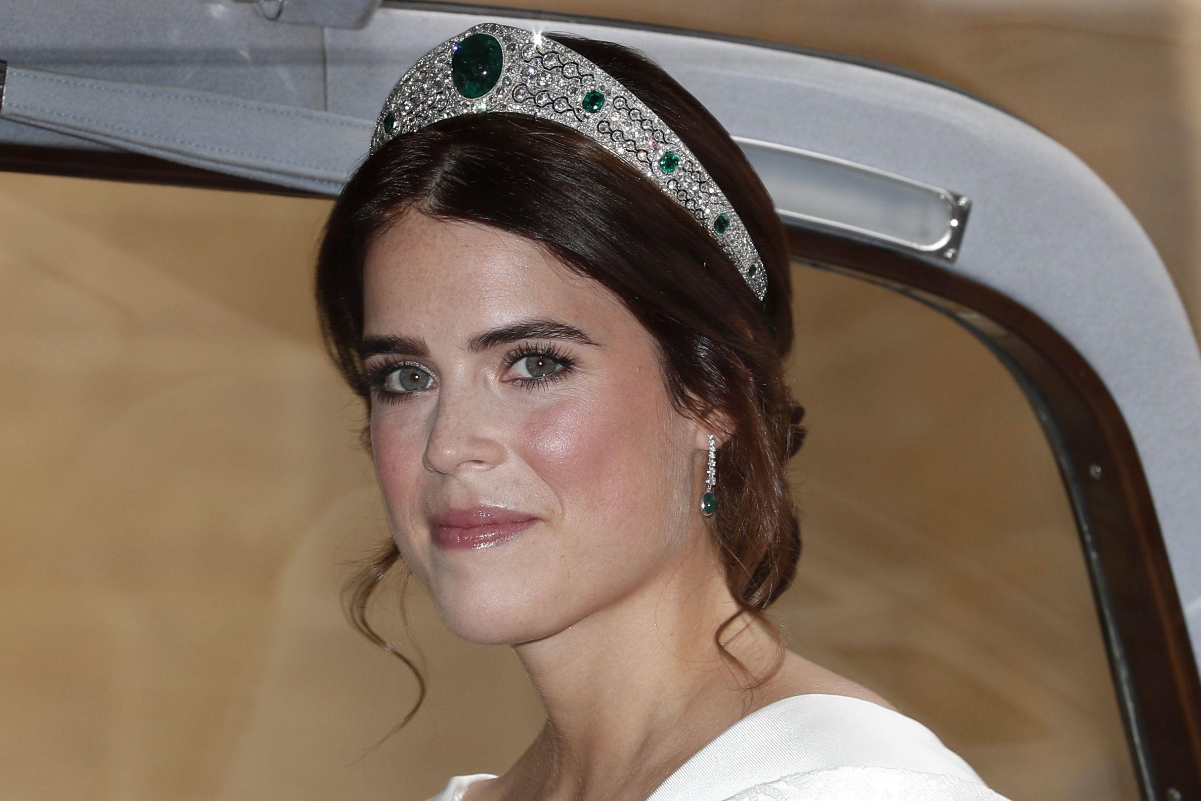 Princesa Eugenie revela motivo que a levou a escolher o vestido de noiva