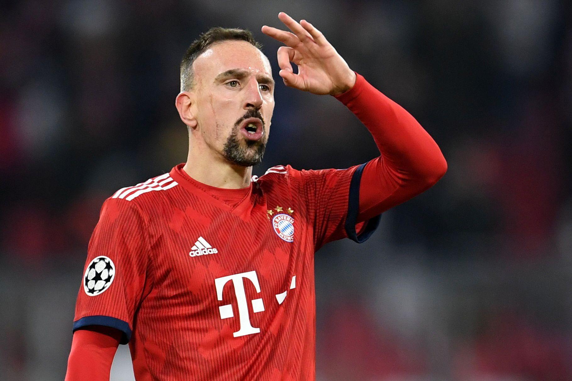 Ribéry soltou insultos em catadupa após comer um bife de 1200 euros