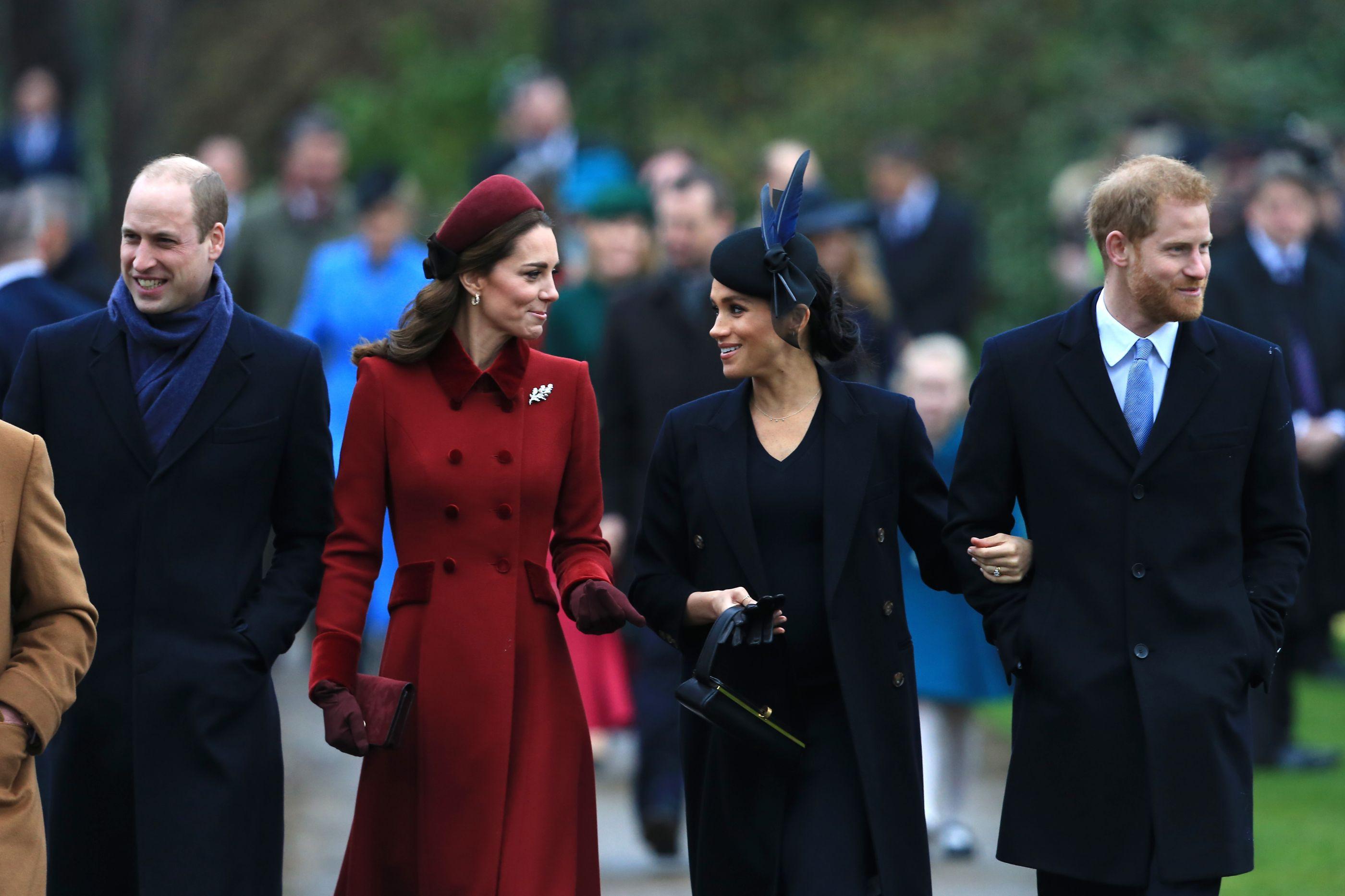 Isabel II ajudou Meghan Markle e Kate Middleton a fazerem as pazes