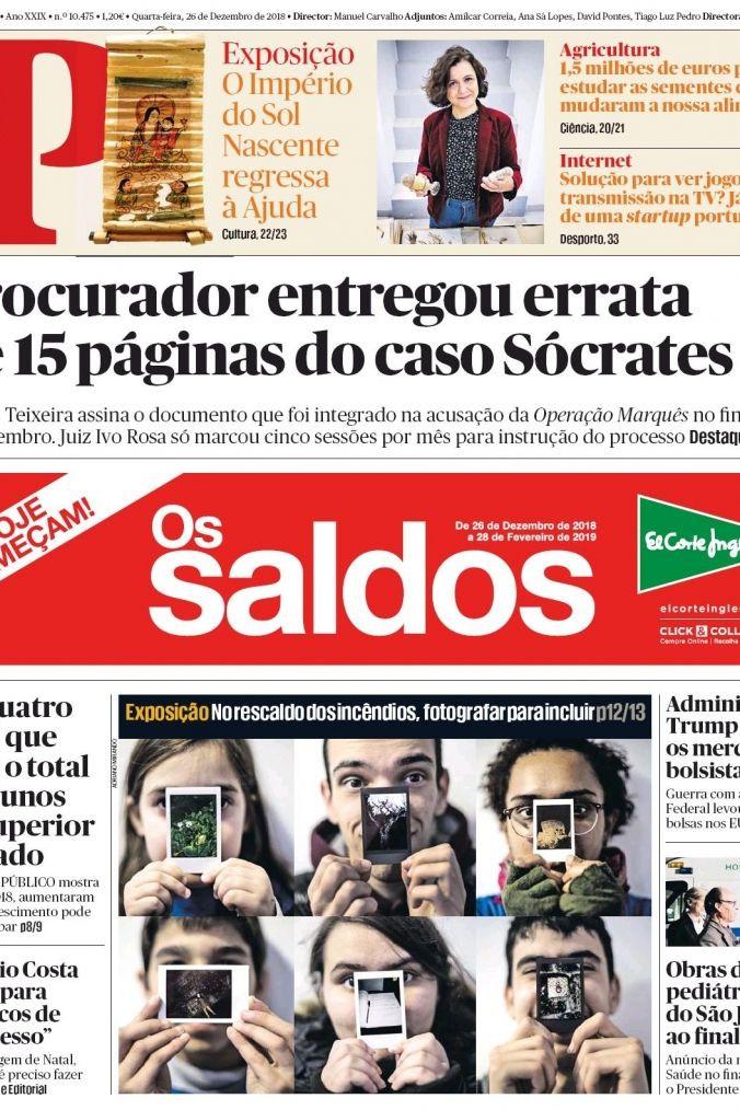 """Hoje é notícia: Errata no caso Sócrates; """"Vamos ter um ano quentinho"""""""