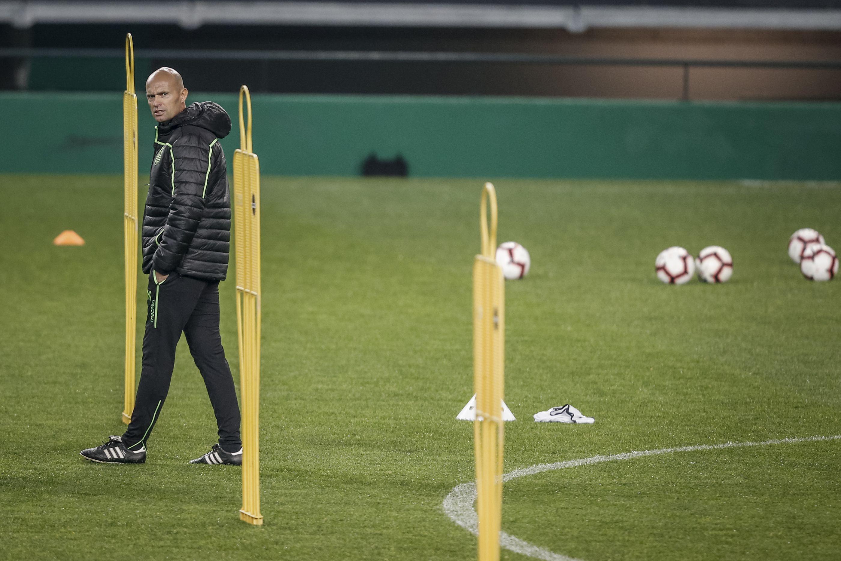 Bruno Gaspar de regresso aos treinos do Sporting