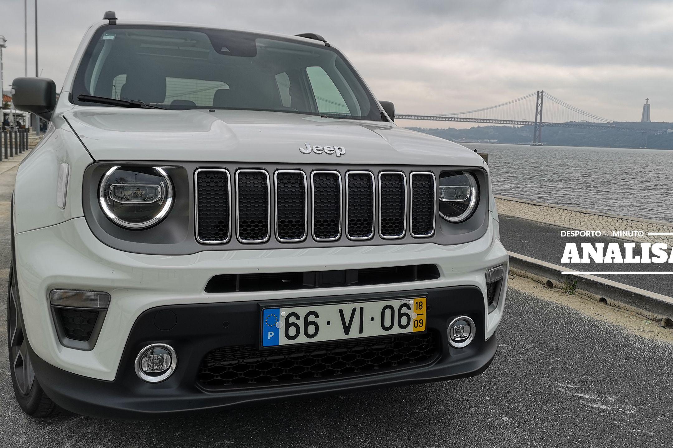 Jeep Renegade: Ou se adora ou se odeia, mas a identidade é inquestionável