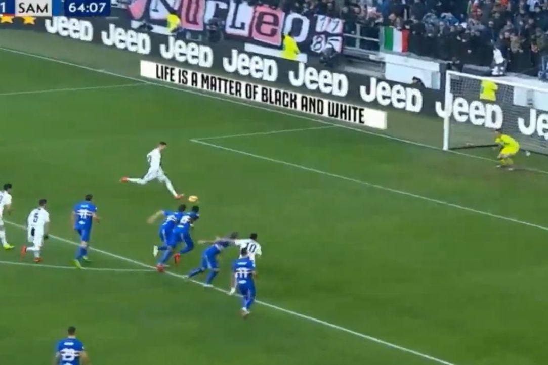 Ronaldo marcou penálti e ficou a um golo dos 50 em 2018