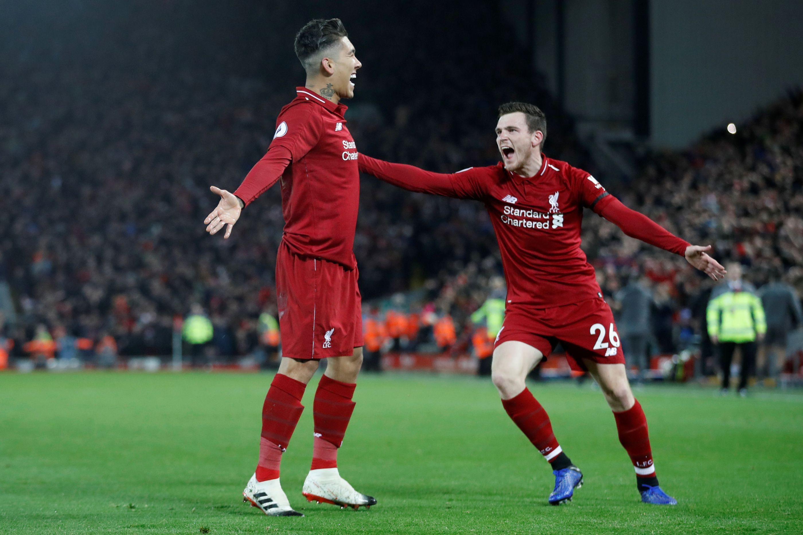 Temos líder! Liverpool recupera de desvantagem e acaba a golear Arsenal