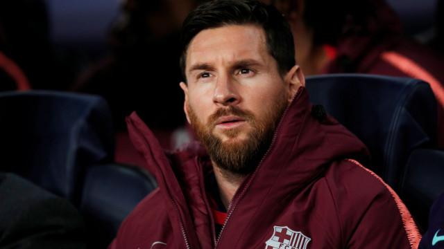Marca: Messi melhor jogador do mundo em 2018. Ronaldo em quarto lugar