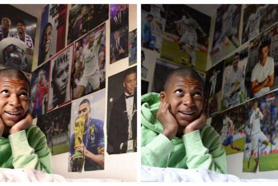 A fotografia (sem Ronaldo) de Mbappé que está a dar que falar