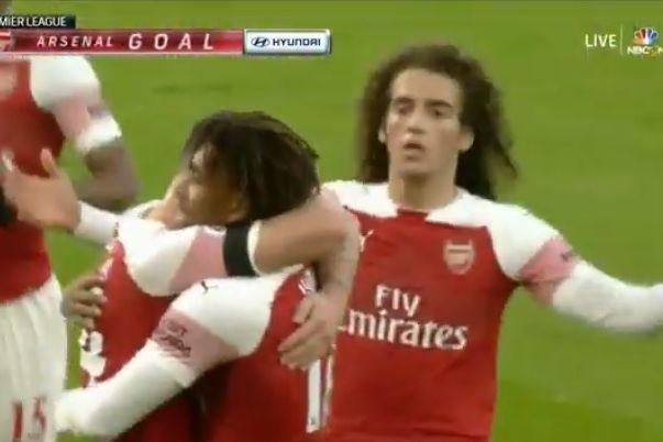 Assim foi o primeiro golo do Arsenal no novo ano
