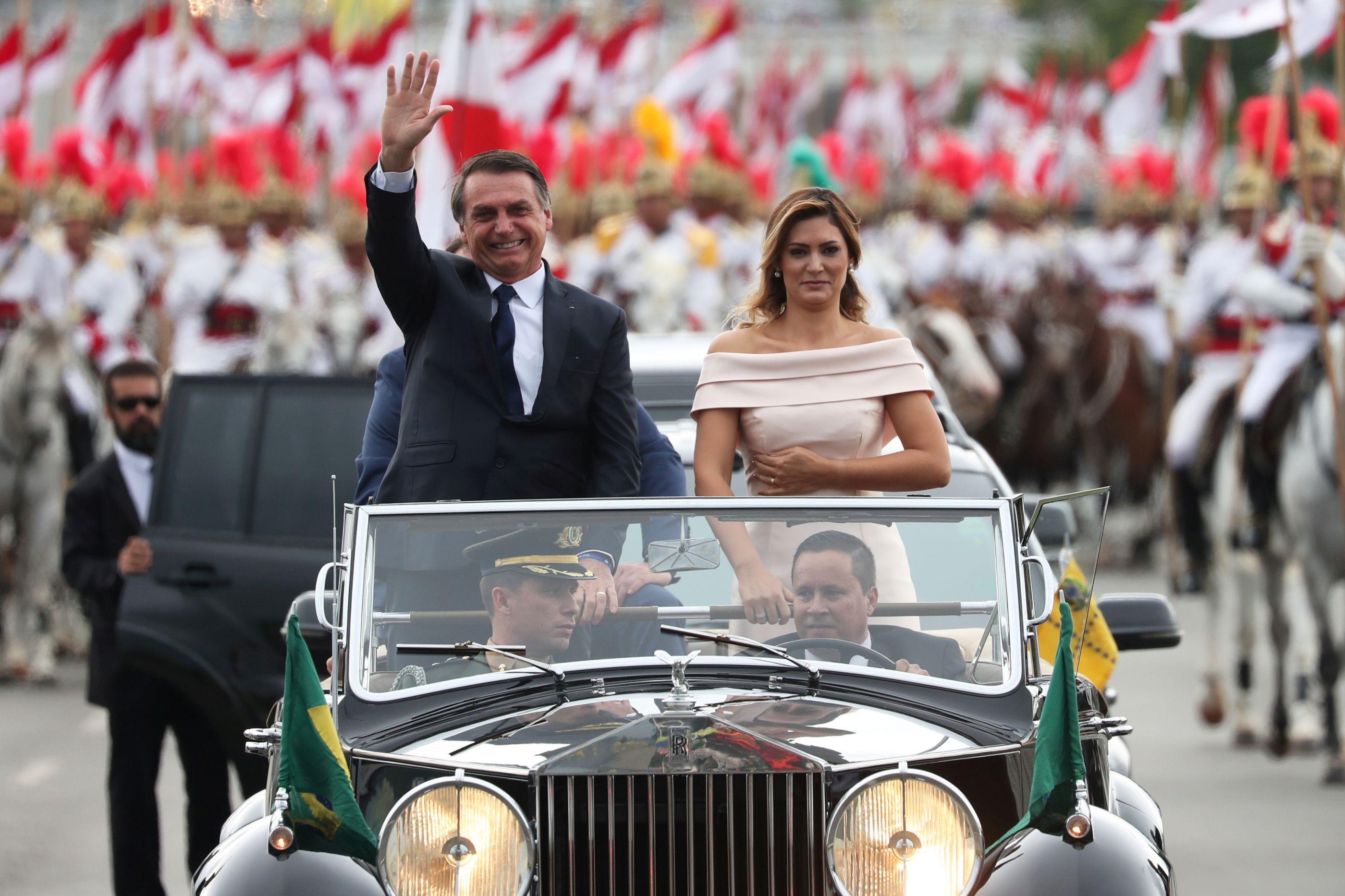 Jair Bolsonaro já tomou posse. É o 38.º Presidente do Brasil