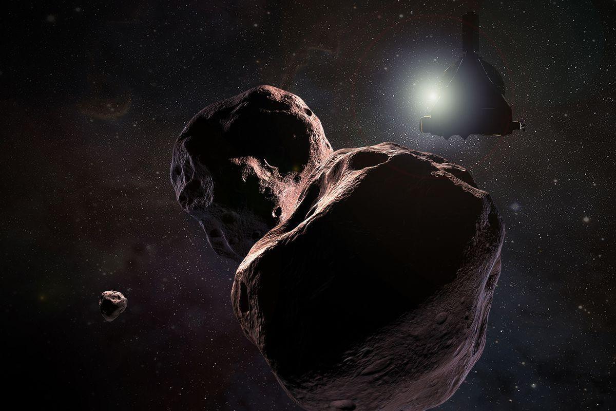 NASA partilha imagem única do objeto mais distante alguma vez visto