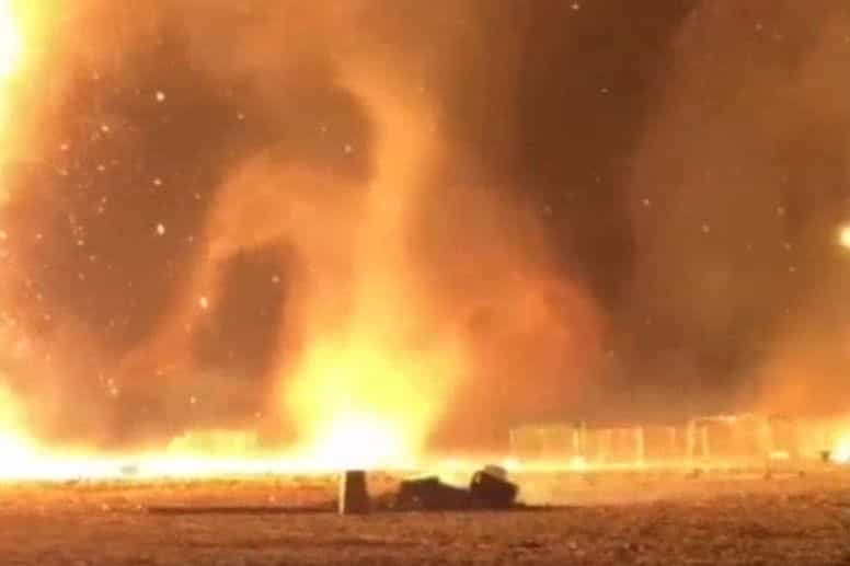 Fogueira de Ano Novo corre mal e provoca vários incêndios na Holanda