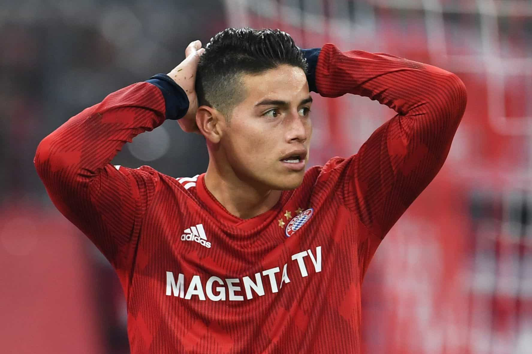Bayern Munique impõe dieta de 13 regras a James Rodríguez