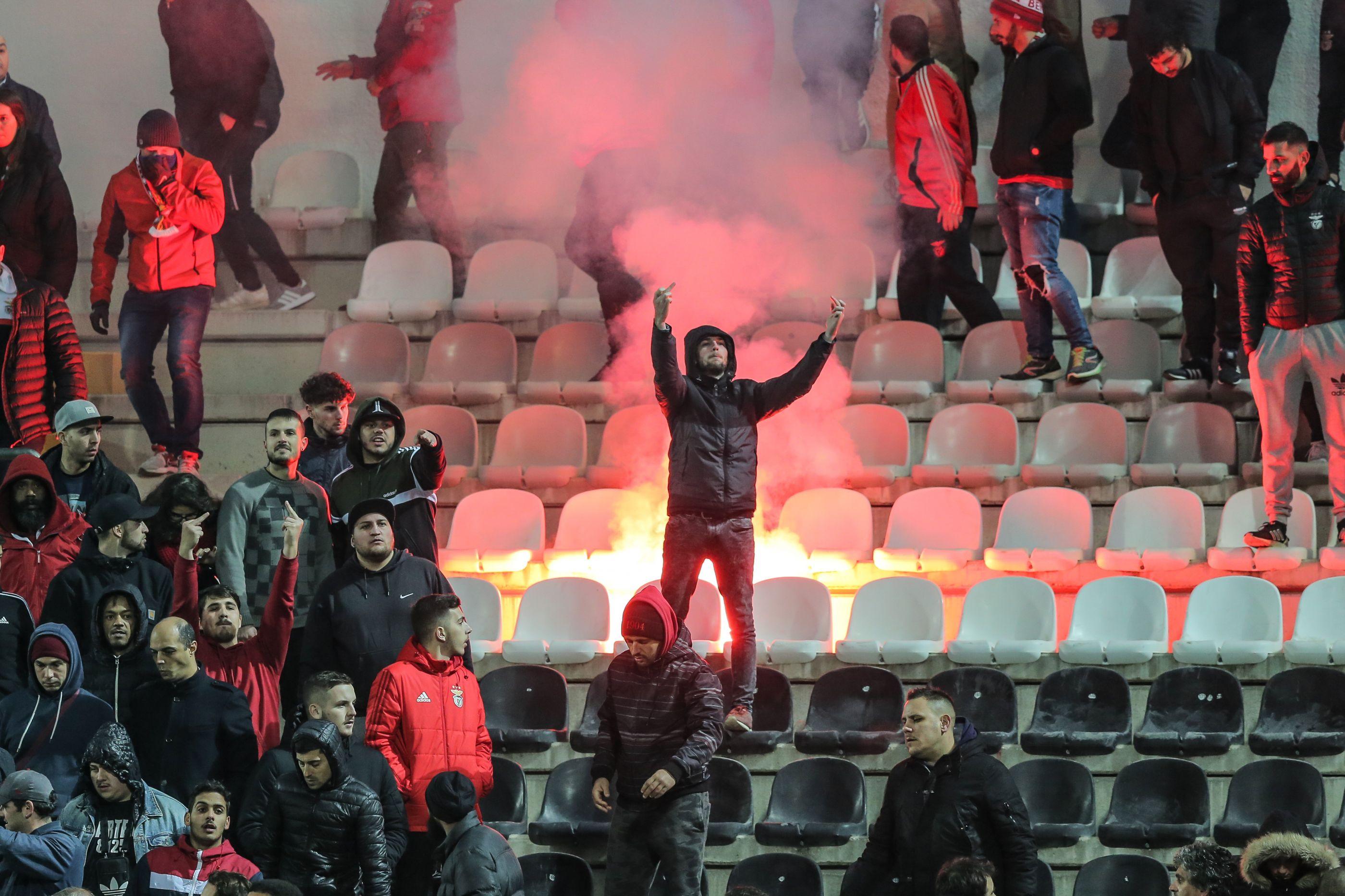 FC Porto já reagiu ao comportamento dos adeptos do Benfica em Portimão