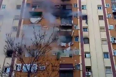Incêndio em prédio de bairro de Barcelona faz três vítimas mortais