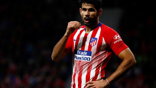 'Bronca' em Madrid: Diego Costa recusa treinar em protesto