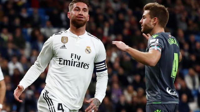 As duras palavras de Sergio Ramos no balneário do Real Madrid