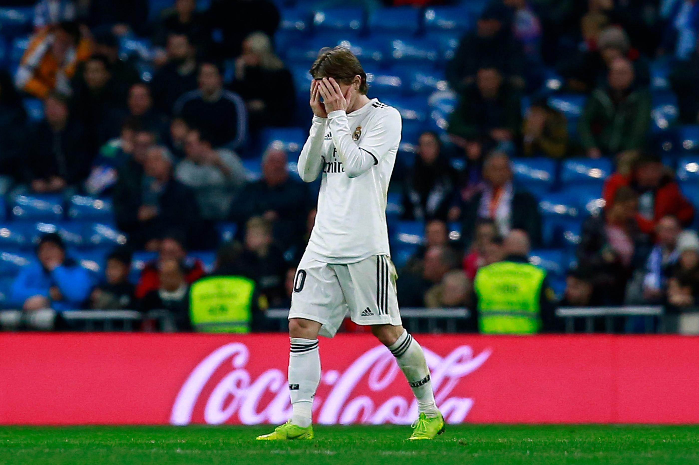 """Modric: """" Não podemos fazer esta mer** todos os jogos"""""""