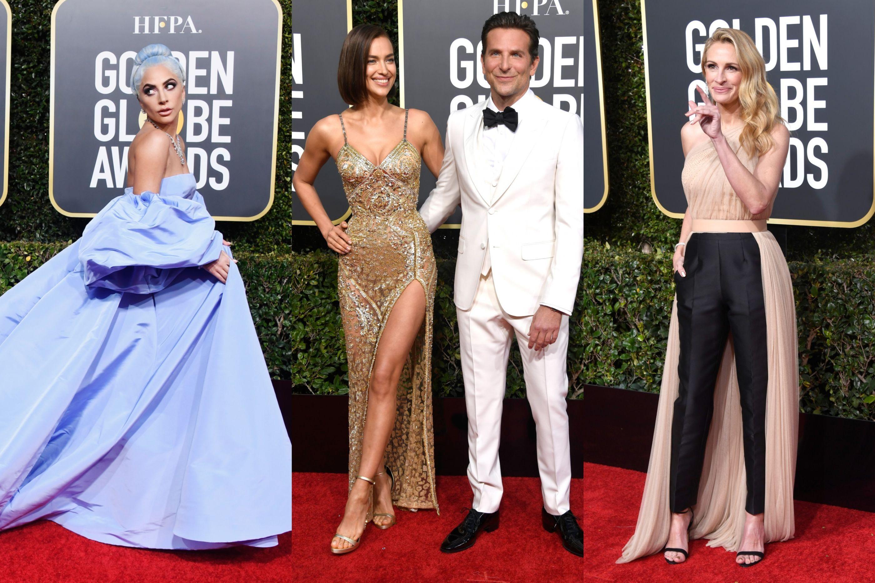 Globos de Ouro: Os looks dos famosos que posaram na passadeira vermelha