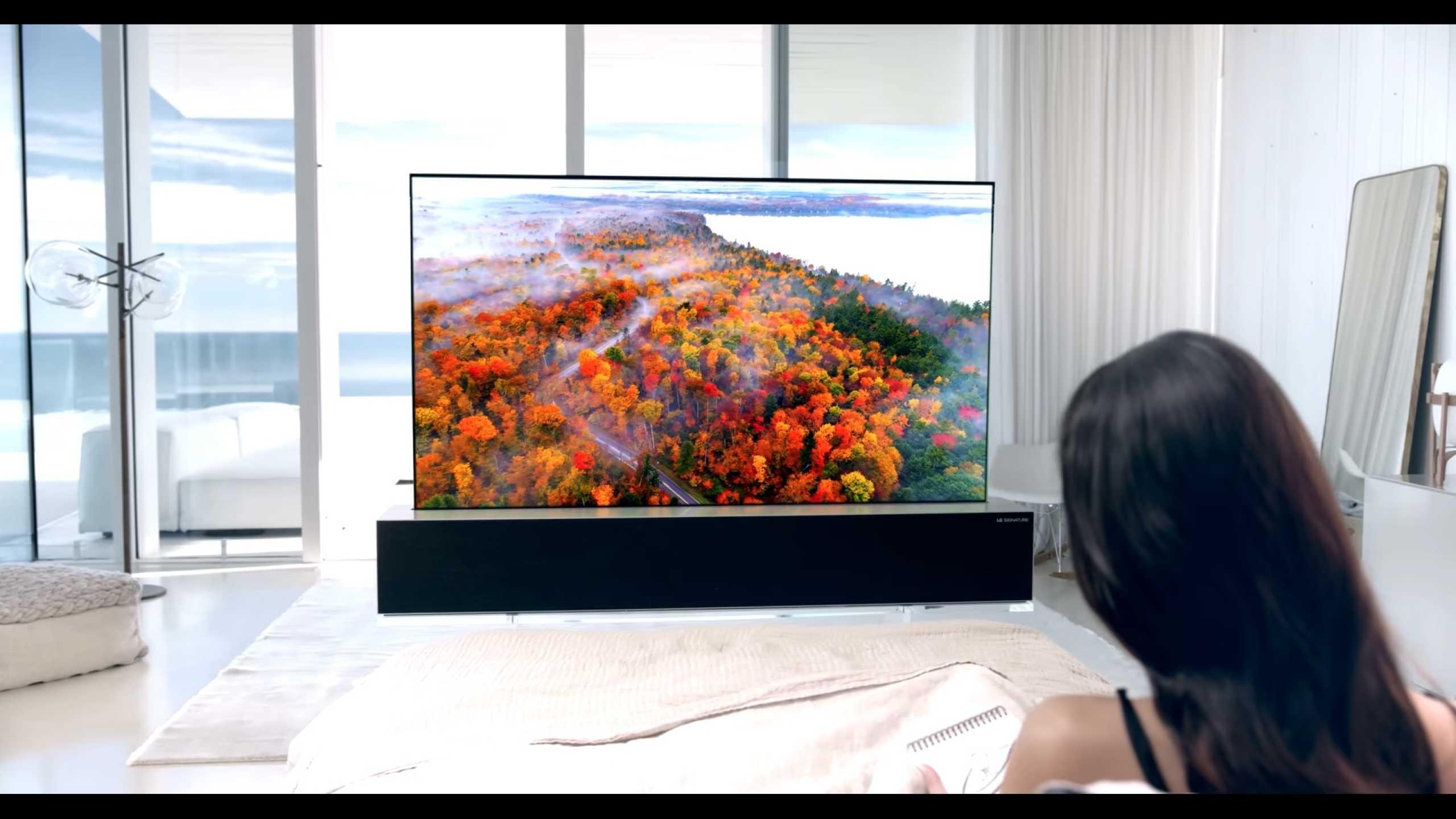 LG quer lançar televisão 'enrolável' esta primavera