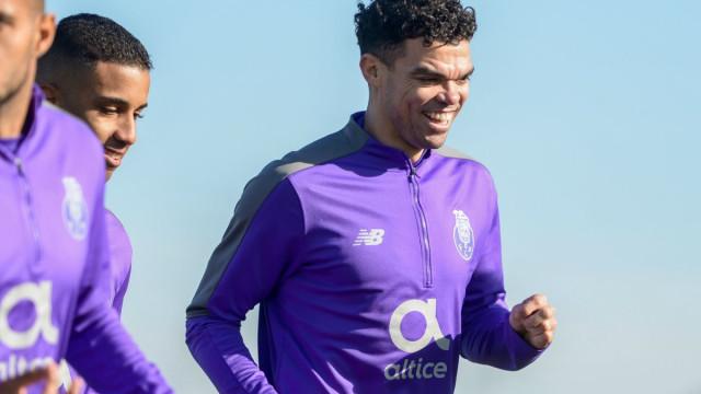 """Pepe: """"Já tivemos a possibilidade de eliminar o Benfica na Taça da Liga"""""""