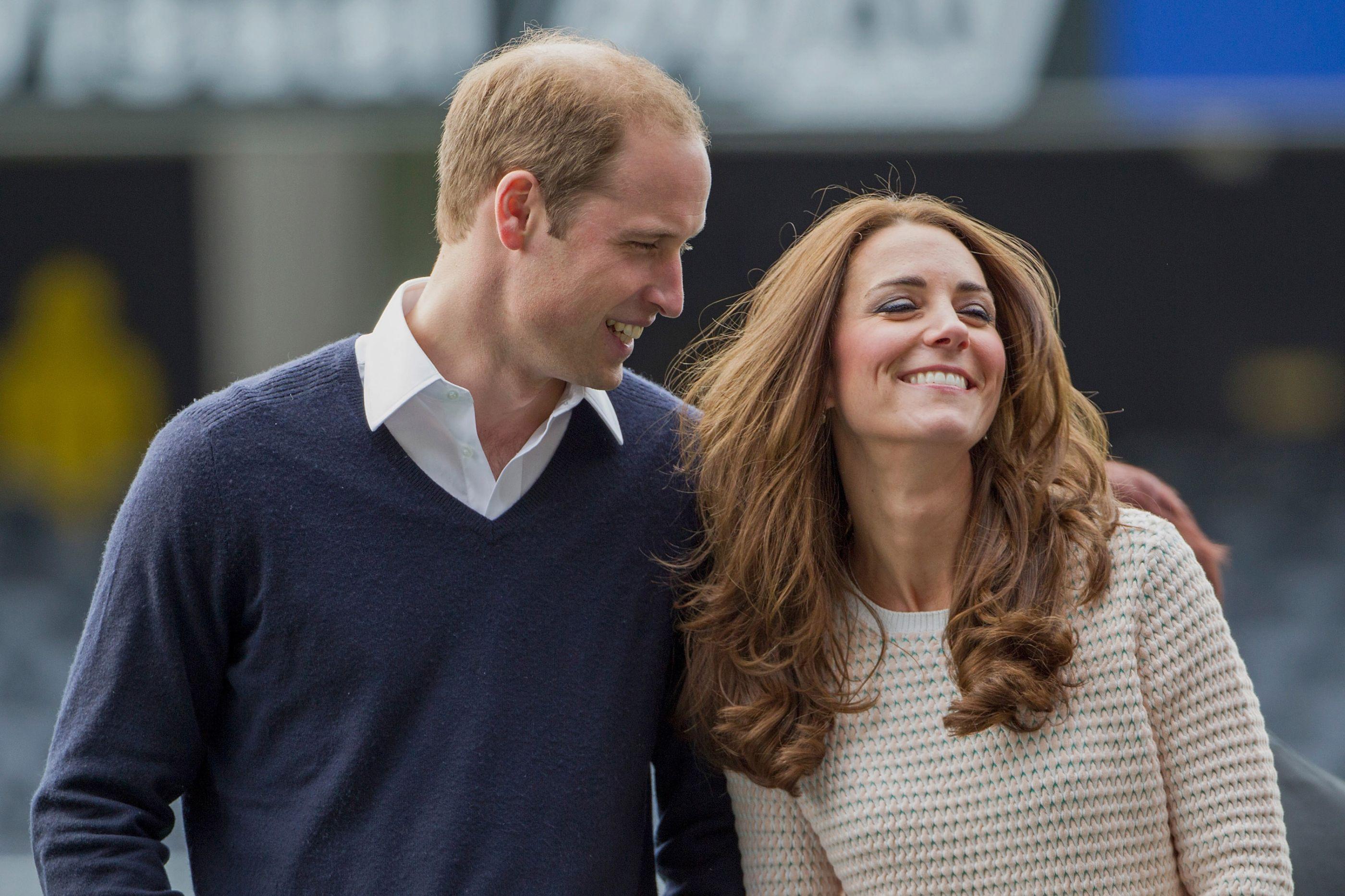 William não resistiu e fez uma piada sobre o aniversário da mulher