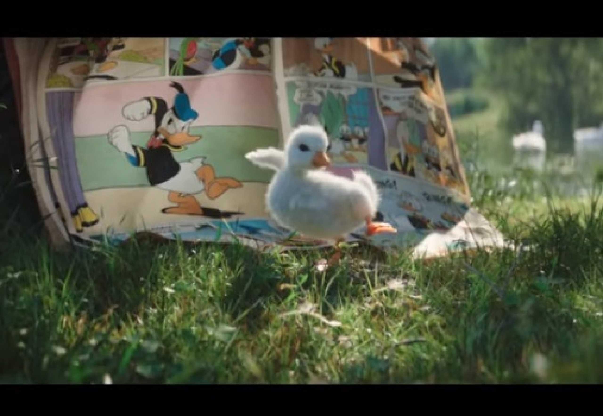 O pato que queria ser como o Pato Donald. O novo protagonista da Disney