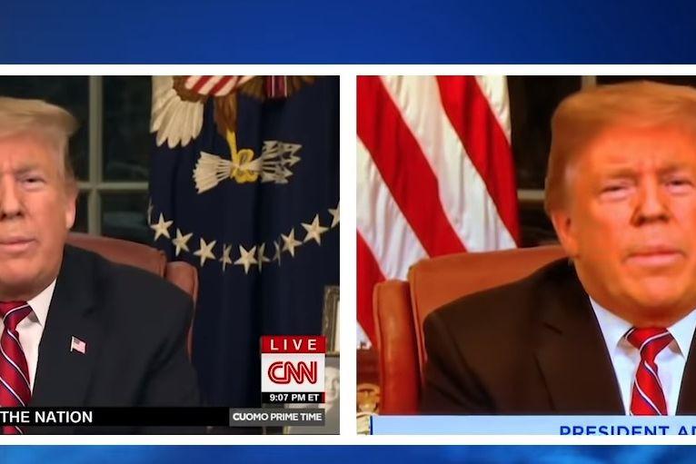 Funcionário de TV despedido nos EUA por 'alaranjar' Trump em discurso