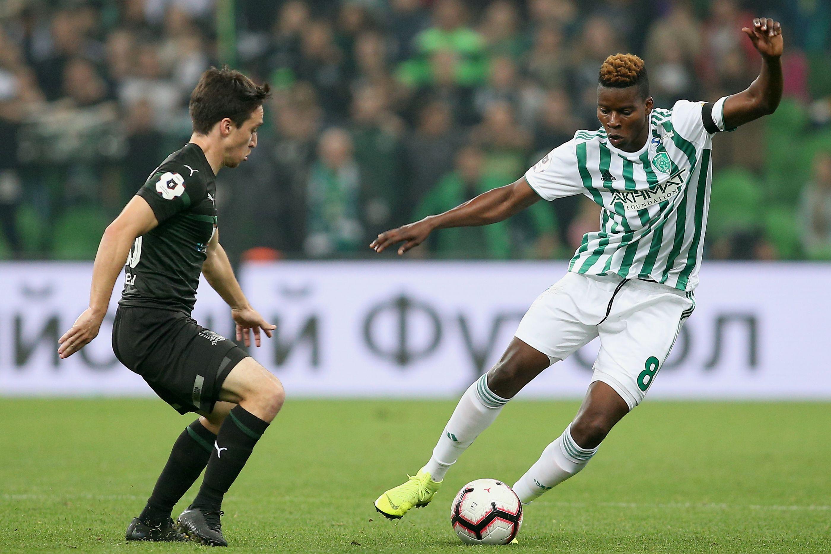Idrissa Doumbia já está em Lisboa para assinar pelo Sporting