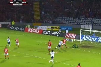 Foi assim que Seferovic inaugurou o marcador nos Açores