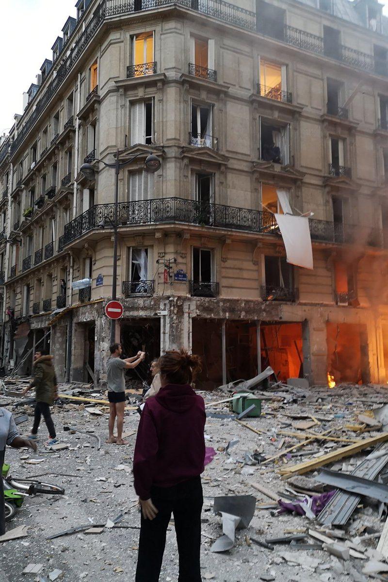 Explosão registada numa padaria de Paris. Há pelo menos 20 feridos
