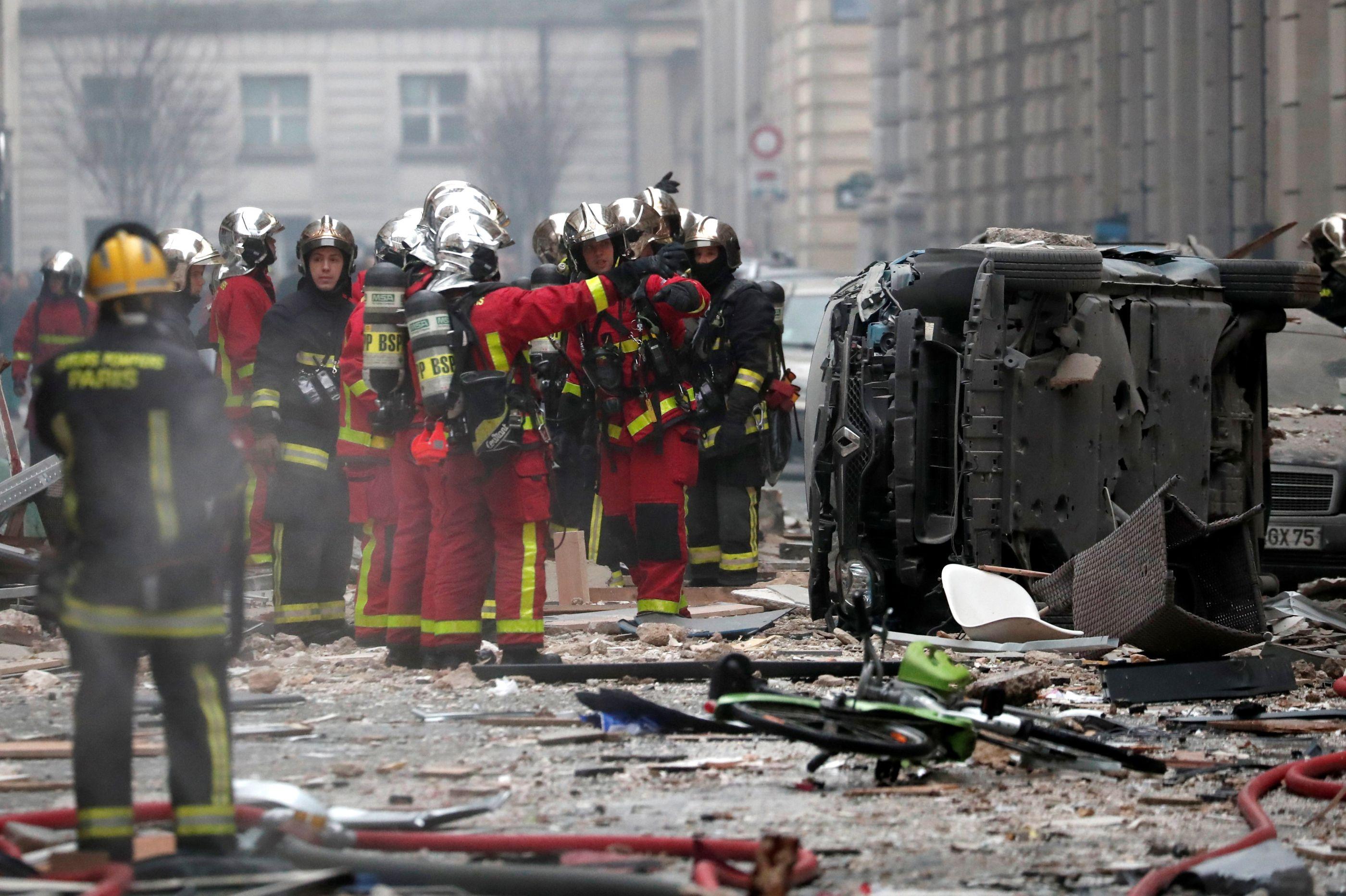 Explosão em Paris: Número de mortos sobe para quatro