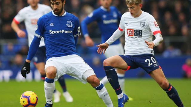 Chuva abençoada em Goodison Park: Everton de Marco Silva volta a sorrir