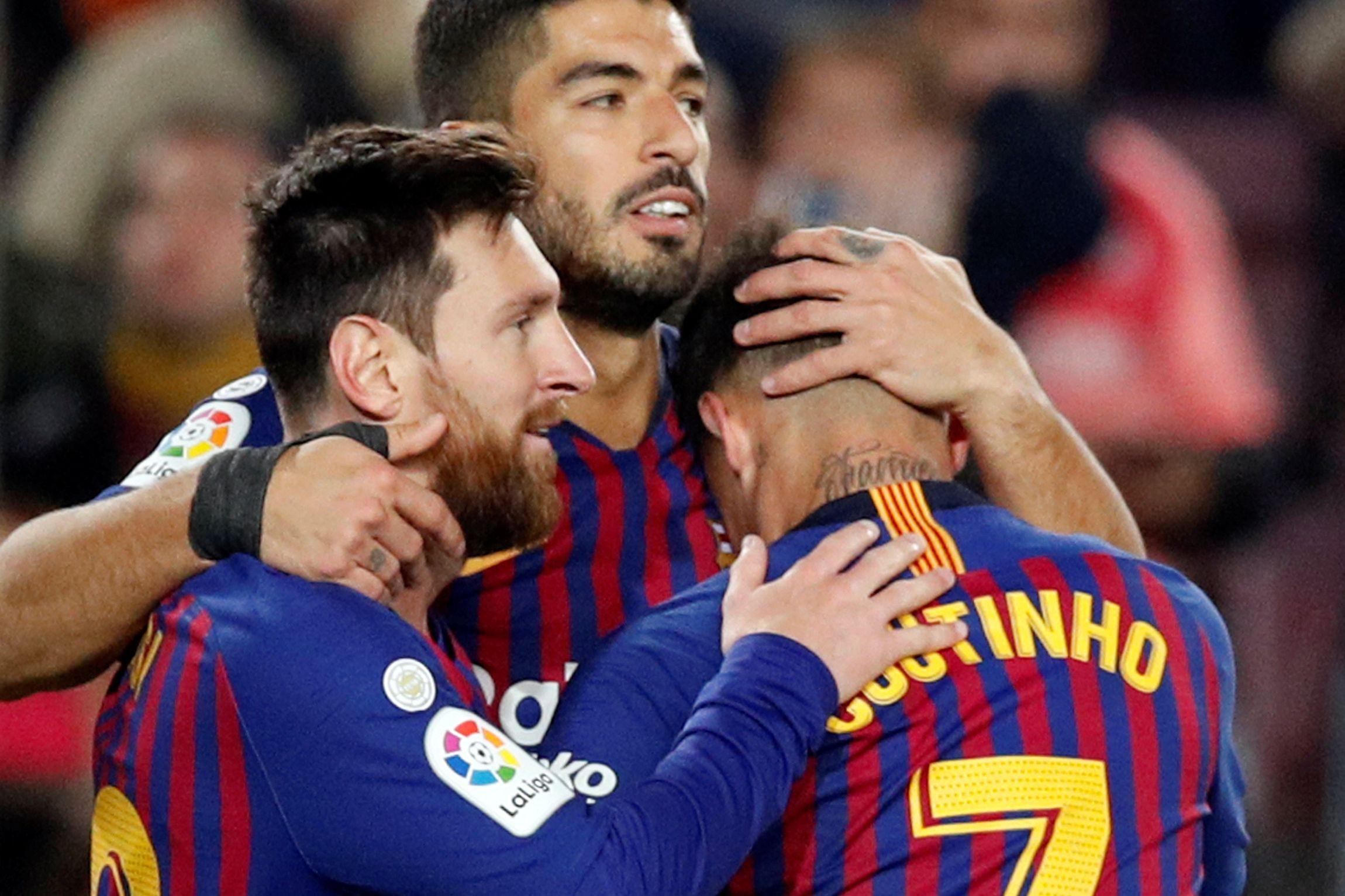 Barcelona 'gela' Eibar em noite de mais um recorde de Messi