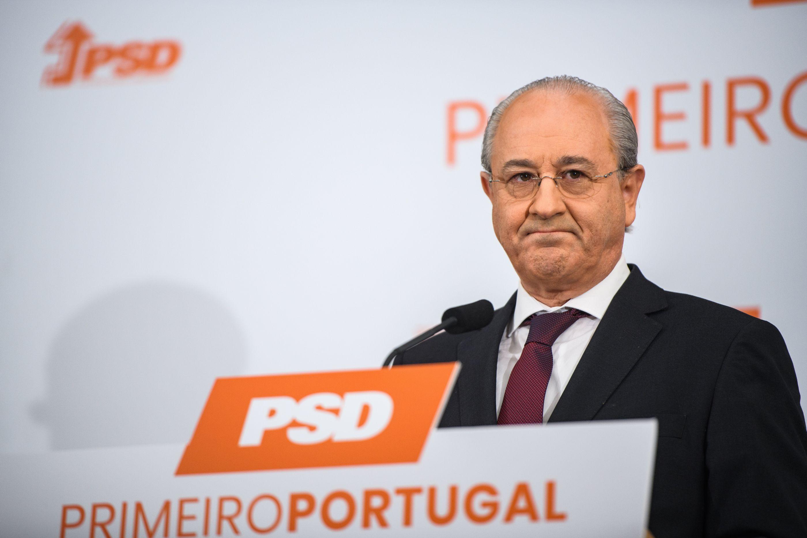 """Rio tem """"grande respeito"""" por Mota Amaral mas não se compromete com nomes"""