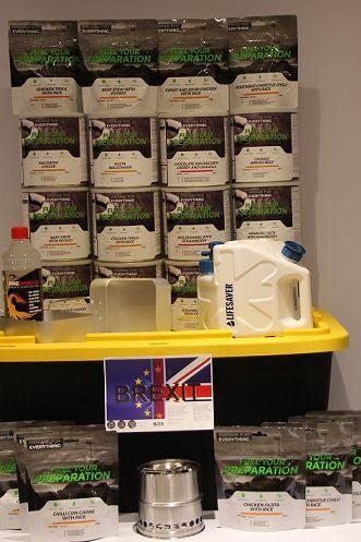 Centenas de britânicos compram kits de sobrevivência para o Brexit