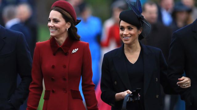 Afinal, os problemas não eram entre Kate Middleton e Meghan Markle