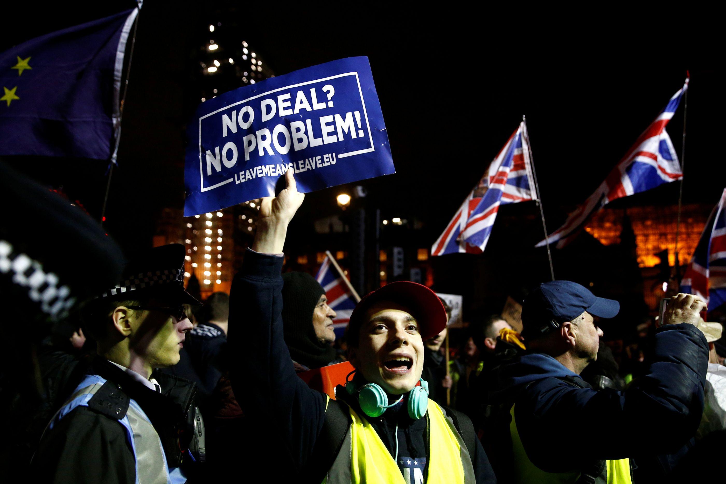 Votação concluída. Acordo do Brexit foi chumbado