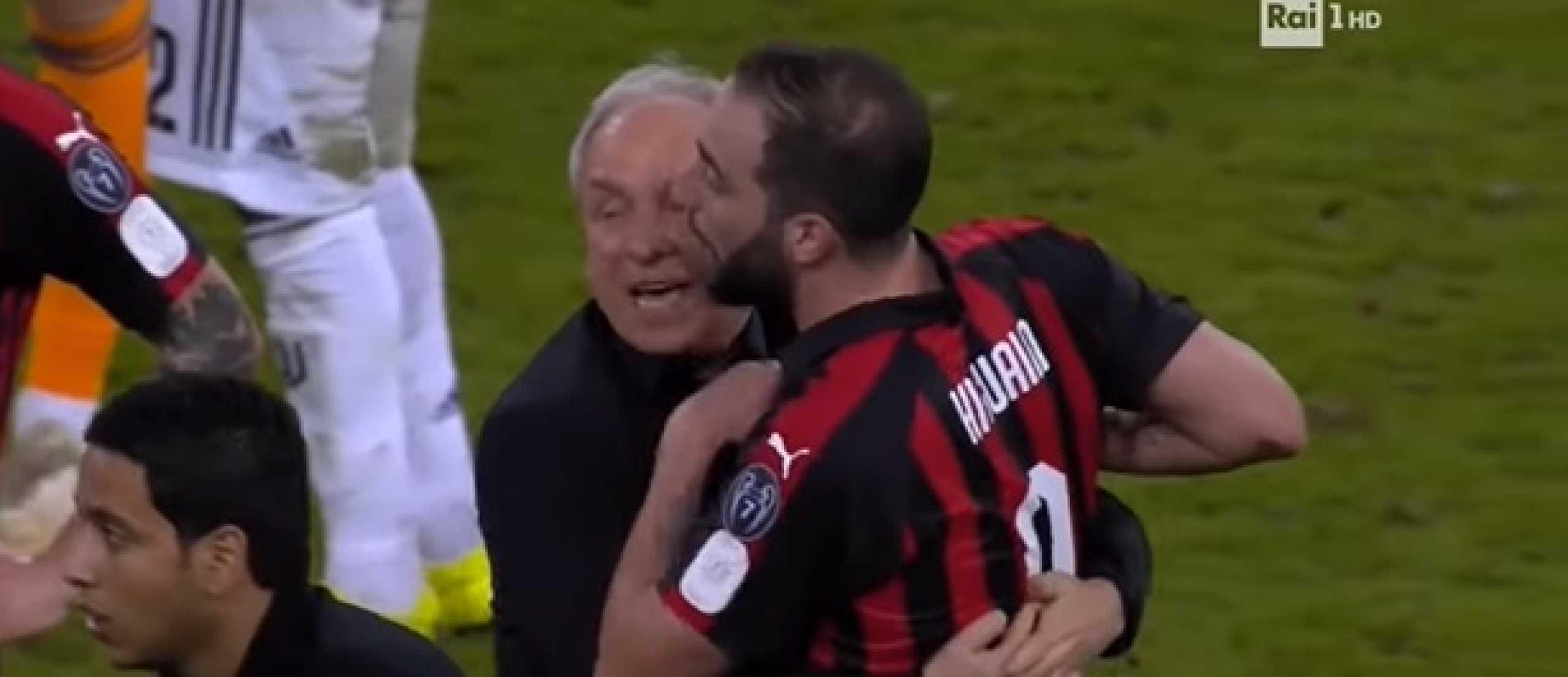 Higuaín volta a repetir 'dose de fúria' após mais um Juventus-AC Milan