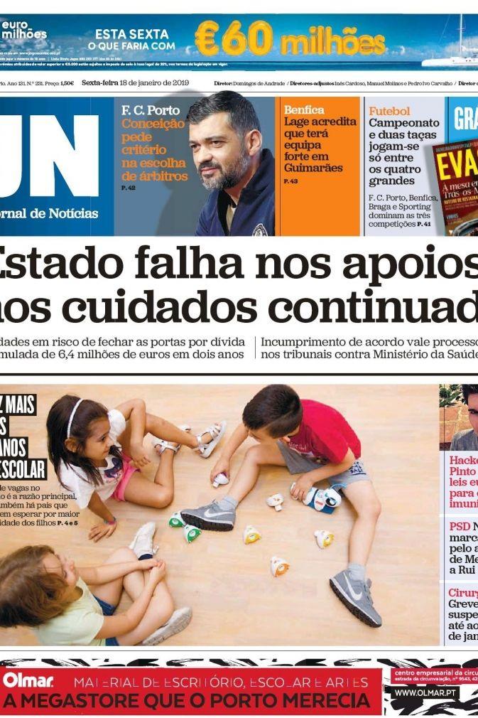 Hoje é notícia: Apoio de Menezes a Rui Rio; Roubo de vídeo sexual no INEM