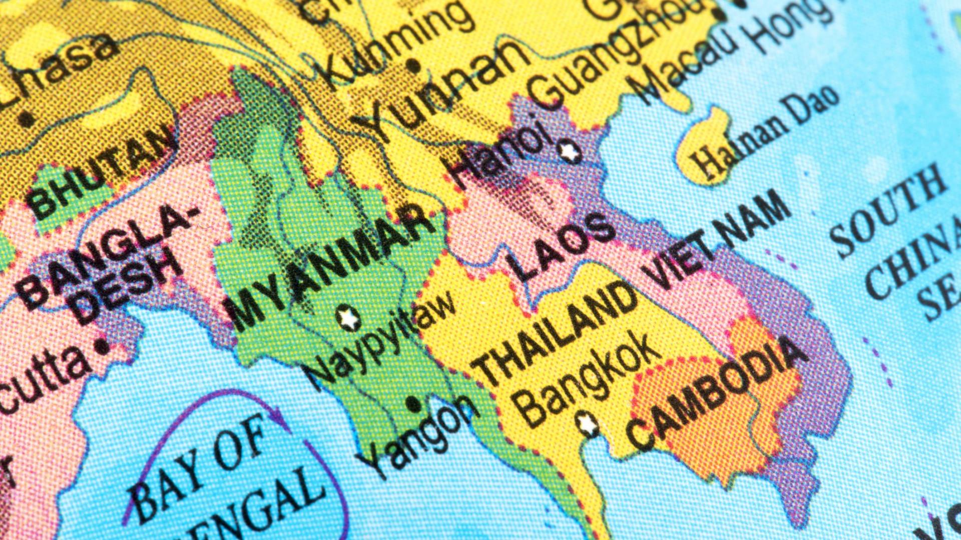 Pelo menos 50 mortos em deslizamento de terras em Myanmar