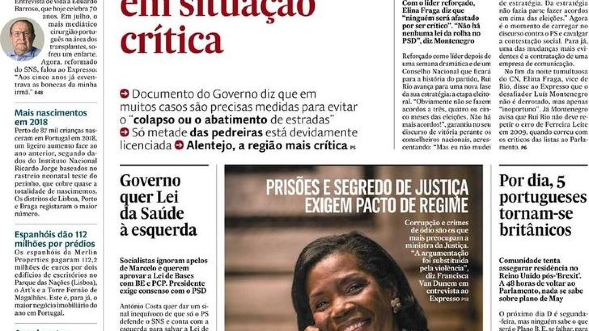 74c8b638a Hoje é notícia  Pedreiras em situação crítica  eurodeputada investigada