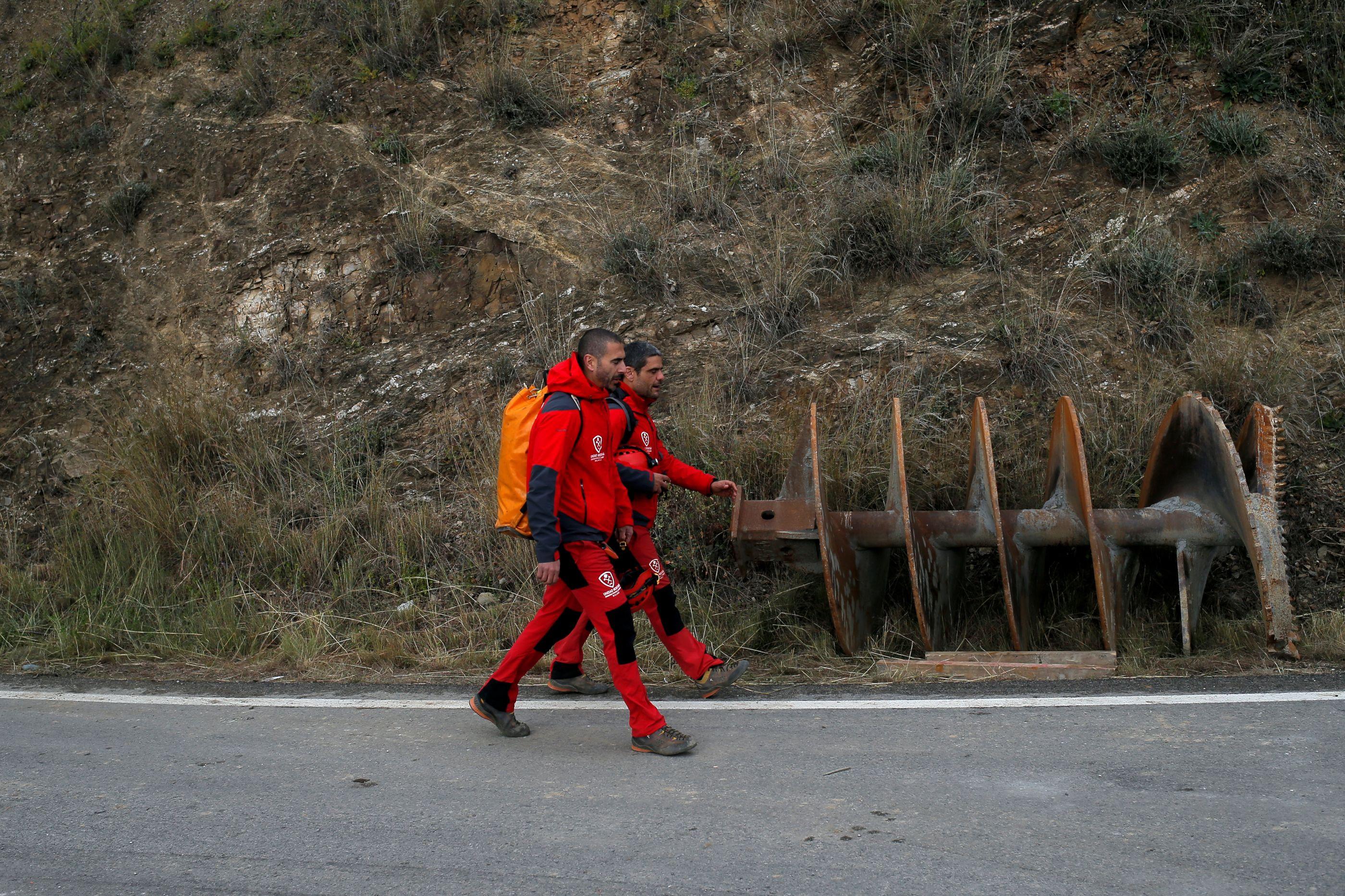 As últimas imagens que chegam do resgate ao pequeno Julen