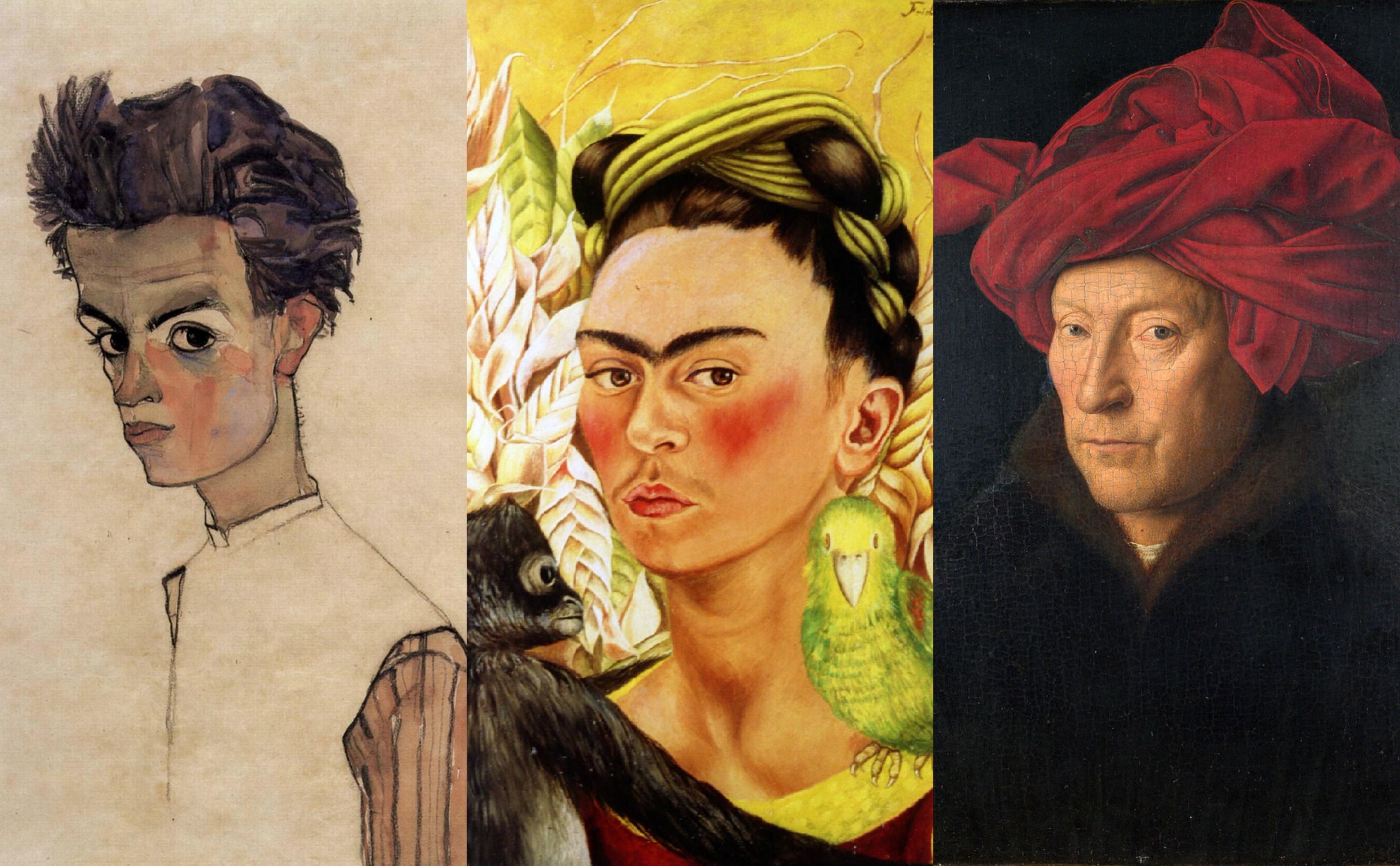 As 'selfies' dos pintores mais icónicos da história