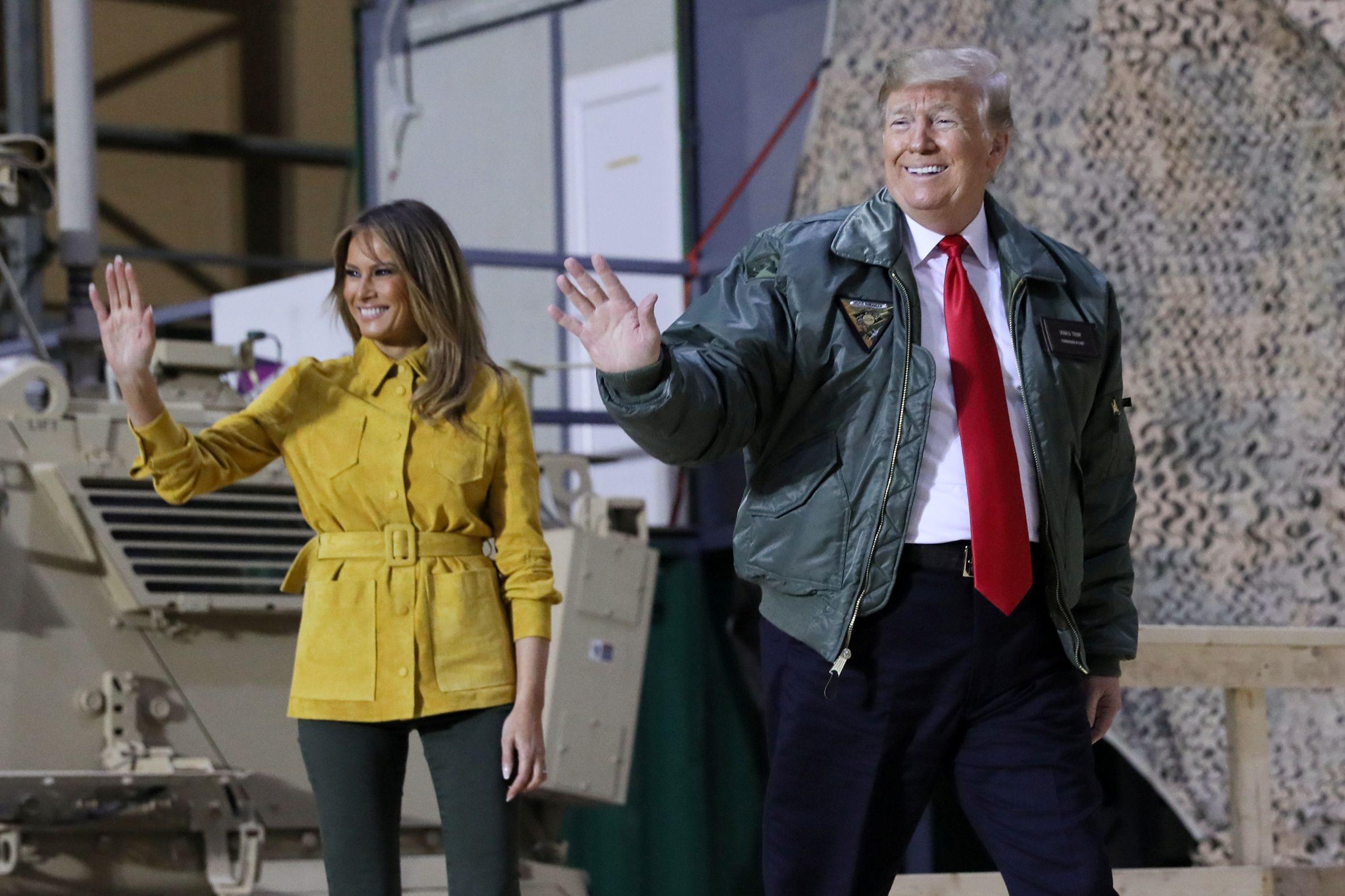 Donald e Melania entre nomeados para prémios dos piores do ano no cinema