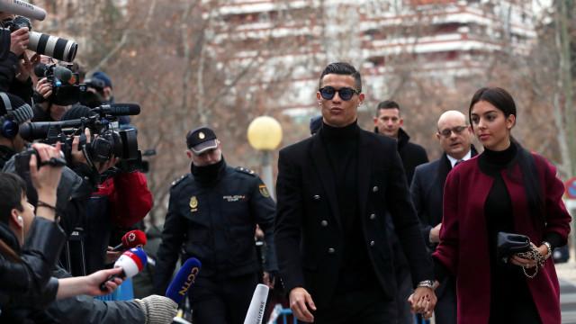 Cristiano Ronaldo já pagou multa milionária quase na totalidade