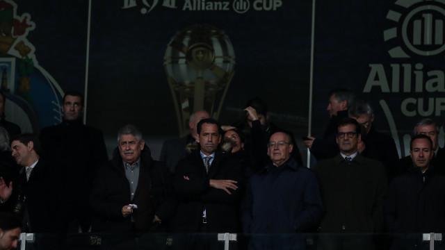 """Pinto da Costa atira-se ao Benfica por """"tristes figuras"""" na Taça da Liga"""