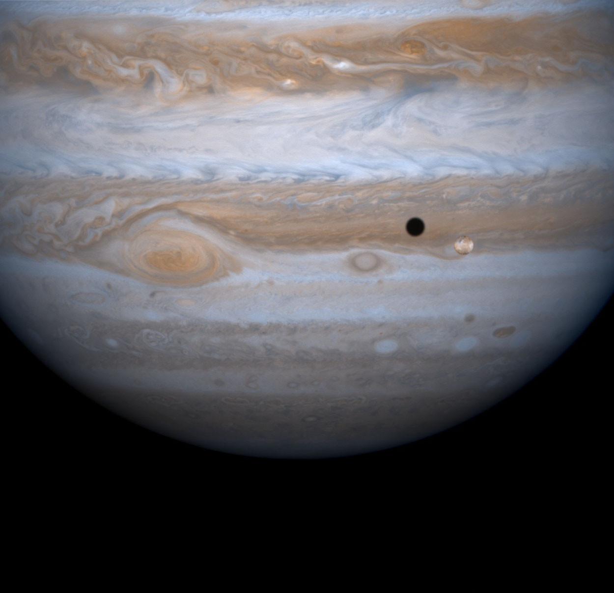 Pode ajudar a escolher os nomes de luas de Júpiter