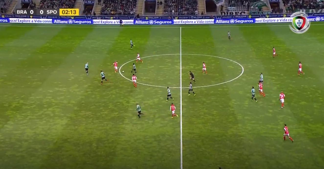 Leão estava a 'ressonar'! Dyego Sousa cantou o primeiro golo do Sp.Braga