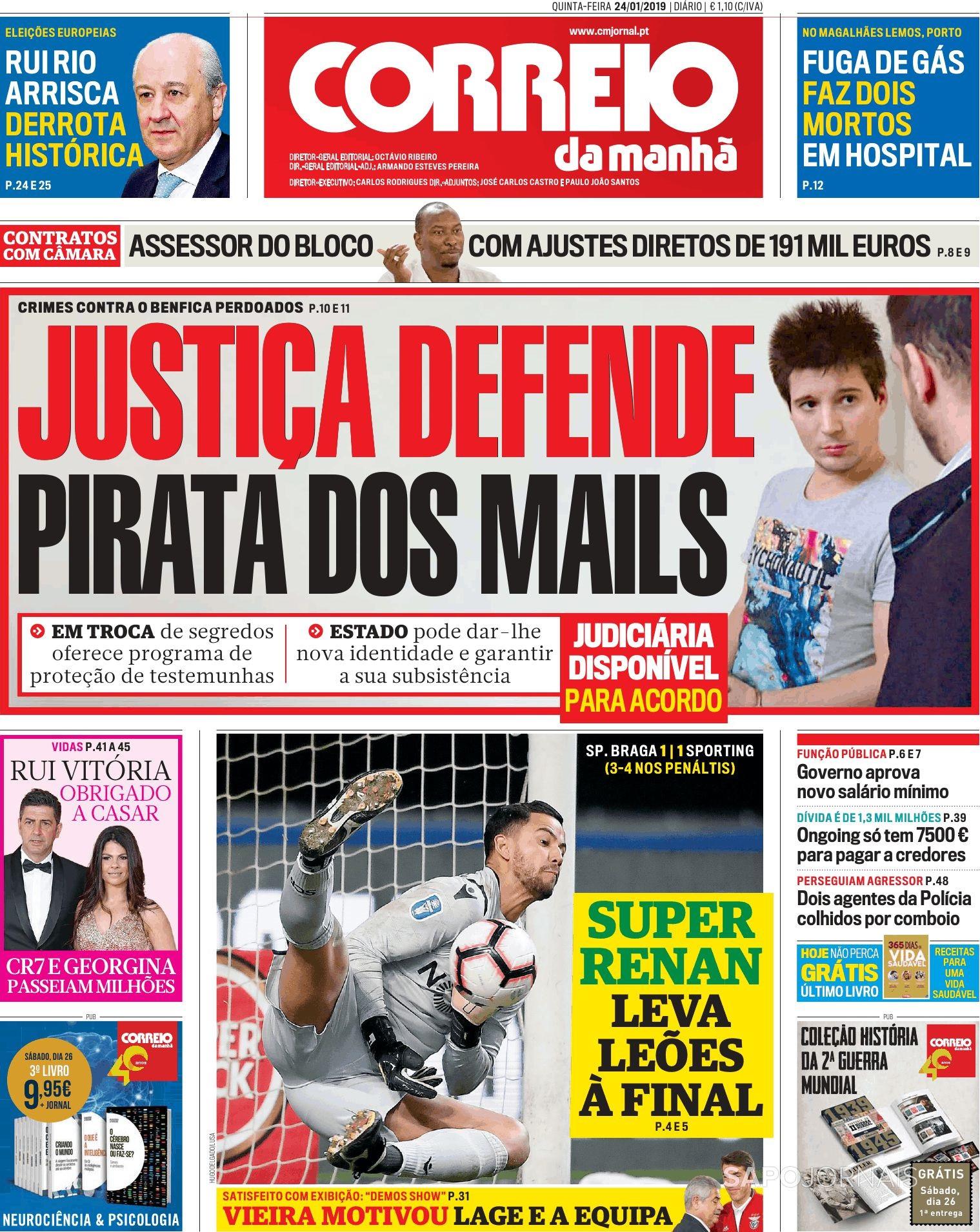 Hoje é notícia: Justiça defende pirata; Divisão de terras será limitada