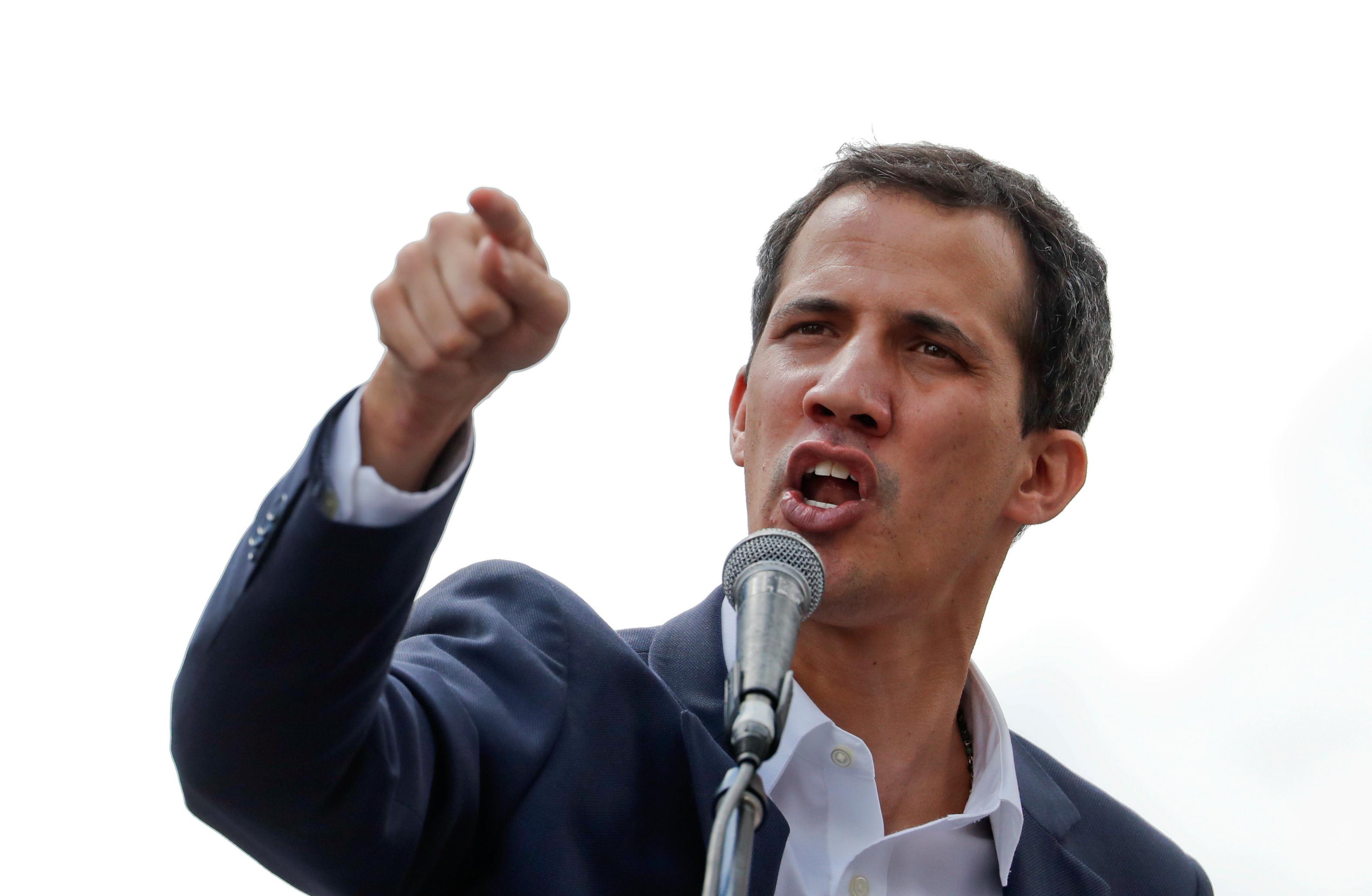 """""""Vamos preparar um grande protesto"""" de Carnaval, anunciou Guaidó"""